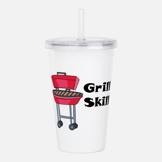 Grill Skill Acrylic Double-wall Tumbler