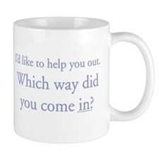 I'd like to help you out. Wh Mug