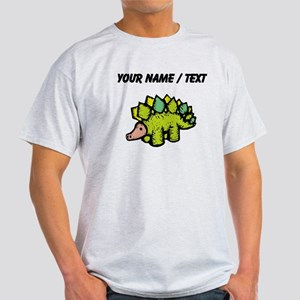 Custom Green Stegosaurus T-Shirt