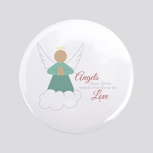 "Angels From Above 3.5"" Button"