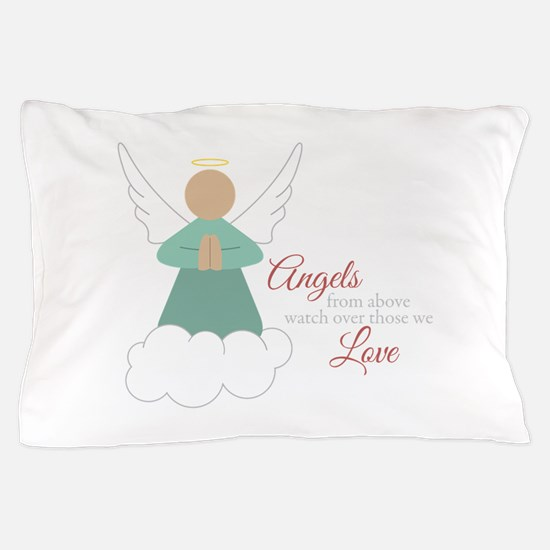 Angels From Above Pillow Case