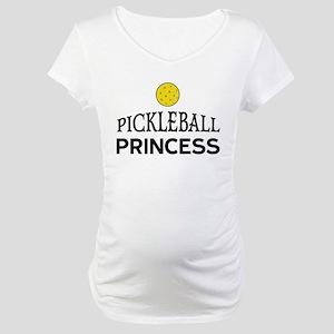 Pickleball Princess Maternity T-Shirt