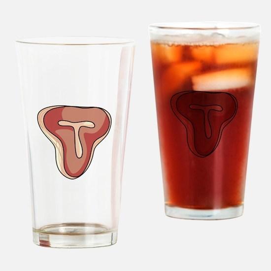 T-BONE STEAK Drinking Glass