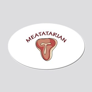 Meatatarian Wall Decal