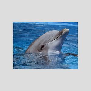 Dolphin 5'x7'Area Rug