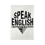 Speak English Rectangle Magnet (10 pack)