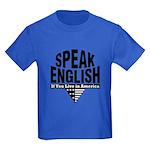 Speak English Kids Dark T-Shirt
