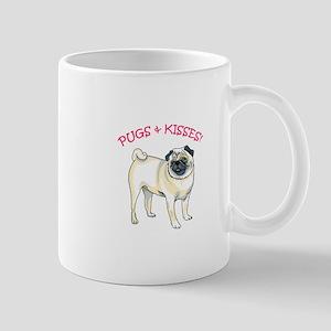 PUGS & KISSES! Mugs