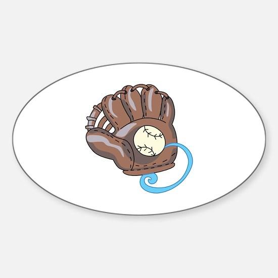 Baseball Glove& Ball Decal