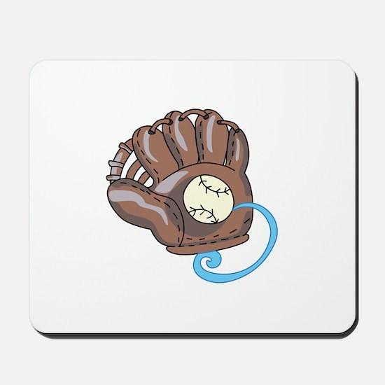 Baseball Glove& Ball Mousepad