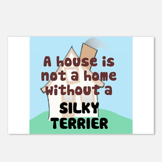 Silky Home Postcards (Package of 8)