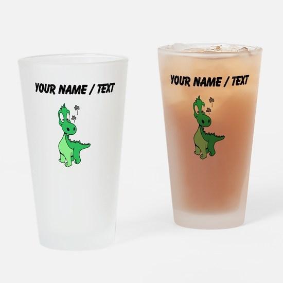 Custom Baby Dinosaur Drinking Glass