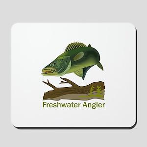 FRESHWATER ANGLER Mousepad