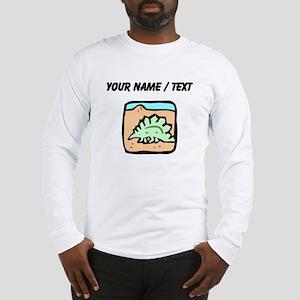 Custom Stegosaurus Long Sleeve T-Shirt