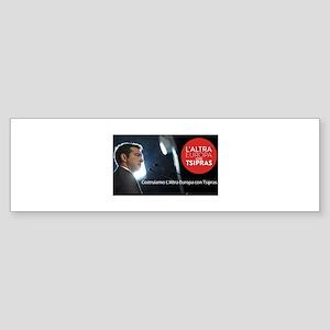 manifesto tsipras Bumper Sticker