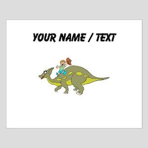 Custom Dinosaur And Boy Posters