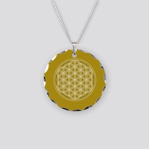 Flower of Life GW Necklace Circle Charm