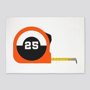 Measuring Tape 5'x7'Area Rug