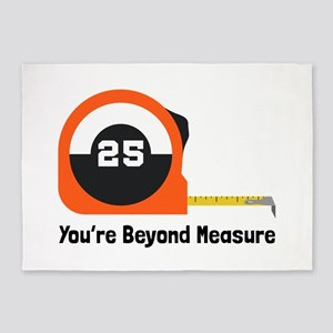 Youre Beyond Measure 5'x7'Area Rug