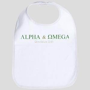 Camo Alpha Omega Bib