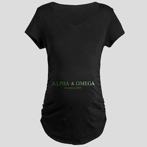 Camo Alpha Omega Maternity Dark T-Shirt