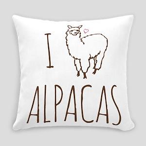 I Love Alpacas Master Pillow