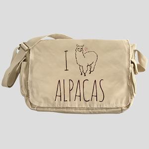 I Love Alpacas Messenger Bag