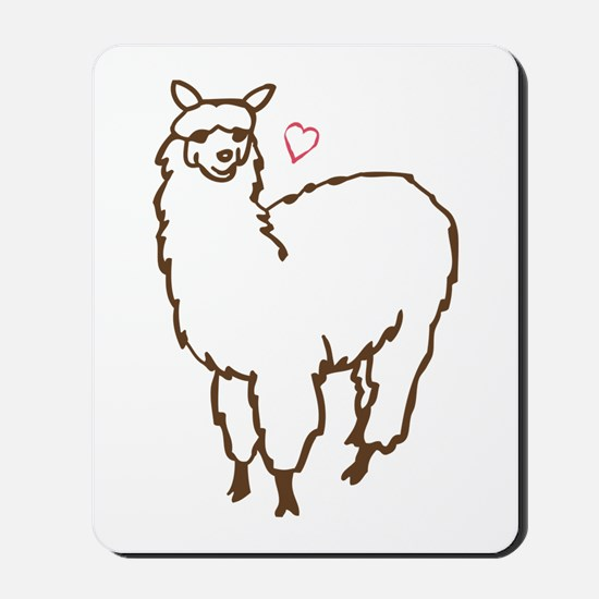 Cute Alpaca Mousepad