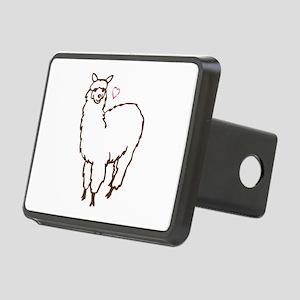Cute Alpaca Rectangular Hitch Cover