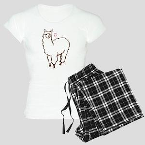 Cute Alpaca Women's Light Pajamas