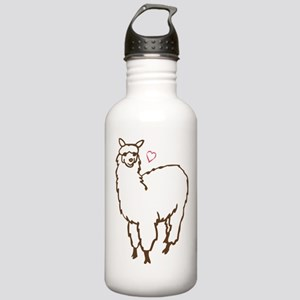 Cute Alpaca Stainless Water Bottle 1.0L