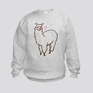 Cute Alpaca Kids Sweatshirt