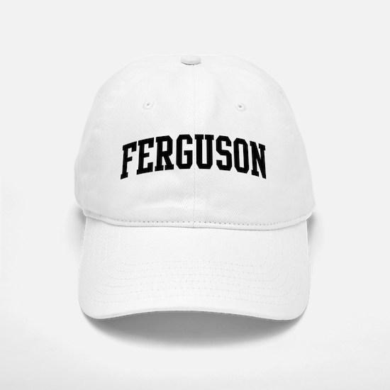 FERGUSON (curve-black) Baseball Baseball Cap
