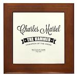 Charles Martel Framed Tile
