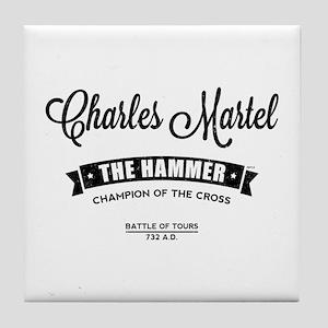 Charles Martel Tile Coaster