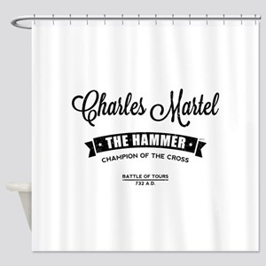 Charles Martel Shower Curtain