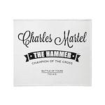 Charles Martel Throw Blanket