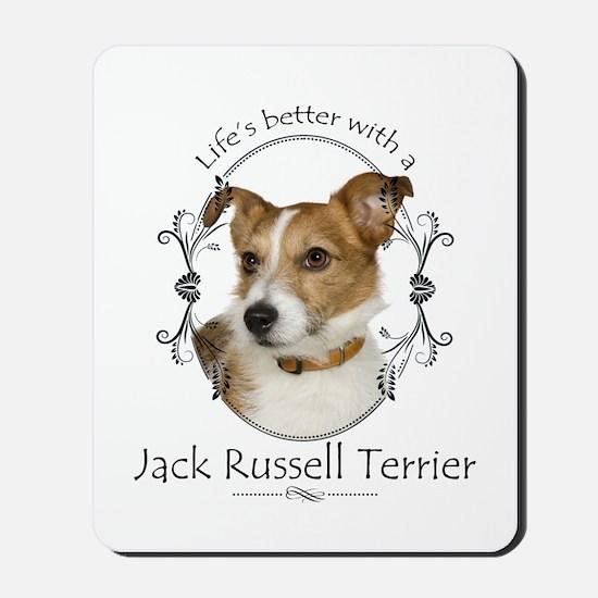 Life's Better Terrier Mousepad