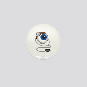 OPTOMITRIST EYE Mini Button