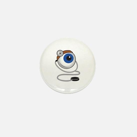 OPTOMITRIST EYE Mini Button