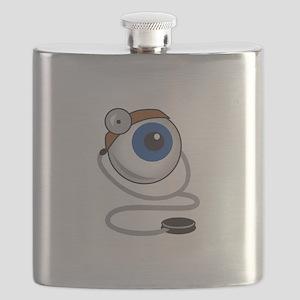OPTOMITRIST EYE Flask
