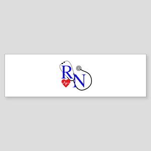 RN FULL FRONT Bumper Sticker