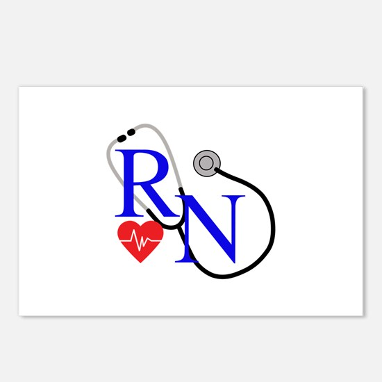 RN FULL FRONT Postcards (Package of 8)
