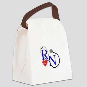 RN FULL FRONT Canvas Lunch Bag