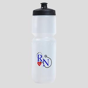 RN FULL FRONT Sports Bottle