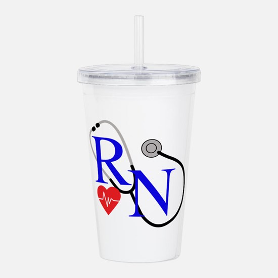 RN FULL FRONT Acrylic Double-wall Tumbler