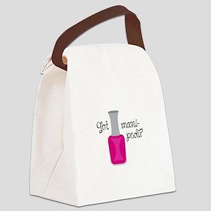 GOT MANI PEDI Canvas Lunch Bag