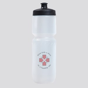 GIVE KIDS A SHOT Sports Bottle