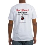 Red Photo Fitted T-Shirt