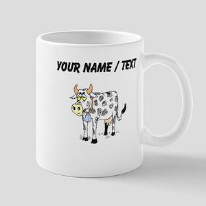 Custom Cow With Bell Mugs